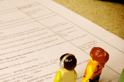 Courant 2011 – rédaction de notre charte éthique et des statuts